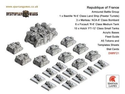 Republique of France Armoured Battle Group (OOP)