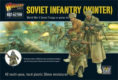 Soviet Winter Infantry plastic box set (40)