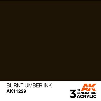 Burnt Umber INK 17 ml