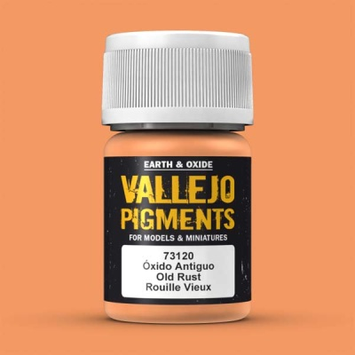 Vallejo Pigment Old Rust 30ml