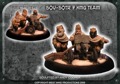Soviet HMG Team (3 crew, 1 gun)