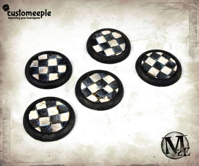 Malifaux Sanatorium base tops - 30mm (5)