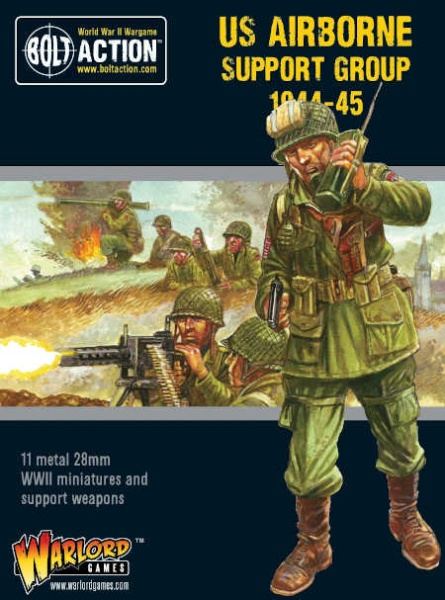US Airborne Support group (1944-45) (HQ, Mortar & MMG)