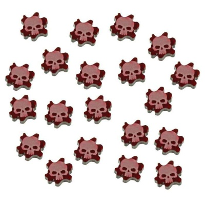 Flesh Wound Tokens (15)