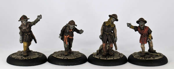 Zombie Soldiers I (4)