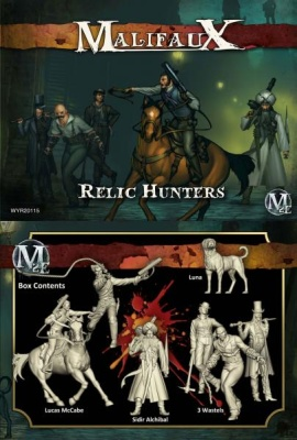 Relic Hunters: Lucas McCabe Crew