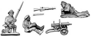 White Russian Maxim Gun