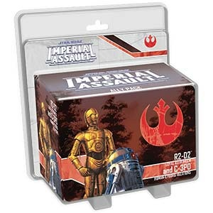 Imperial Assault - R2-D2 and C-3PO Ally Pack