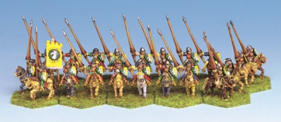 Mounted Lancers (20)