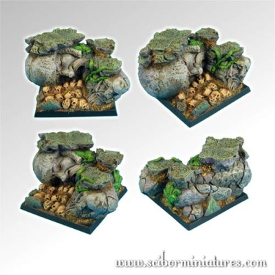 Dwarven Ruins 50mm square base