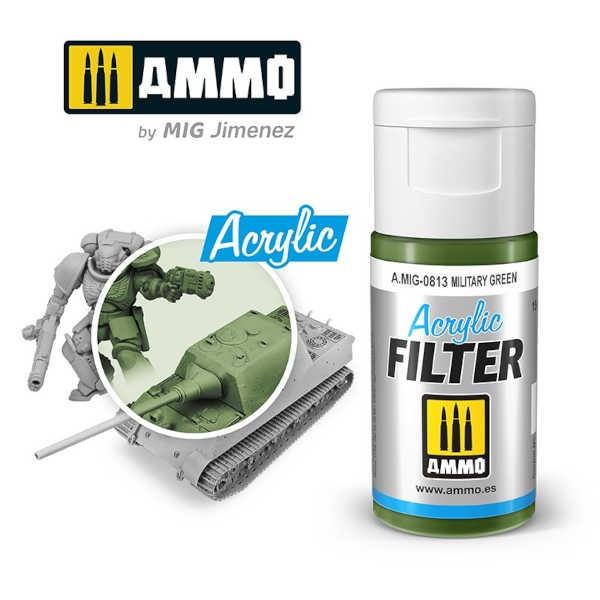 ACRYLIC FILTER Military Green (15ml)