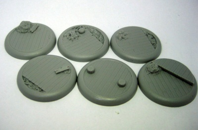 Round Base - Dock of Despair 40mm (6)