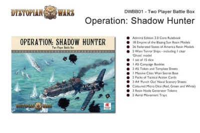 Operation: Shadow Hunter - 2 Player Boxed Set