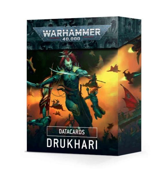 Datacards: Drukhari ENGLISCH