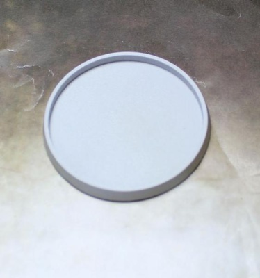 Beveled Edge: 55mm Hollow Blank (1)