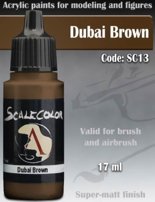 Scalecolor 13 Dubai Brown (17ml)