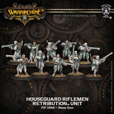 Retribution Houseguard Riflemen Unit (10 Models)