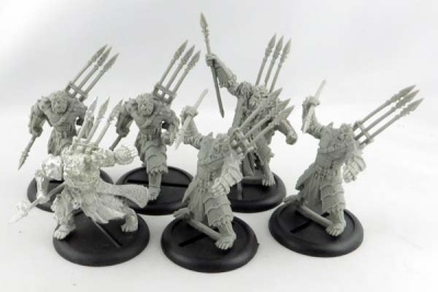 HORDES: Everblight Warspear Unit + UA (6)