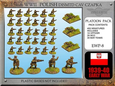 Polish Cavalry Dismounted (Czapka)