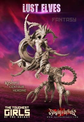 Keshyrii, Centaur Heroine (LE - FANTASY)
