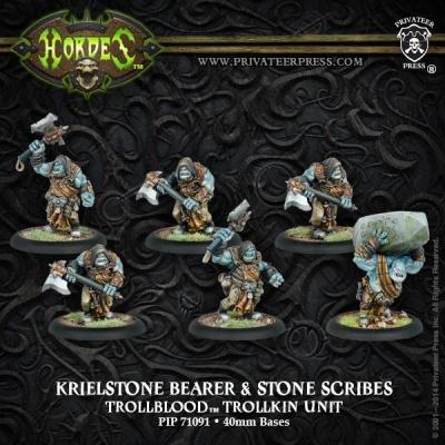 Trollblood Krielstone Bearer & Stone Scribes (6)