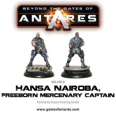 Hansa Nairoba & Bovan Tuk, Mercenary Captains