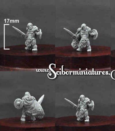 15mm Barbarian #3