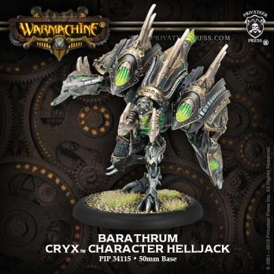 Cryx Character Heavy Warjack Barathrum