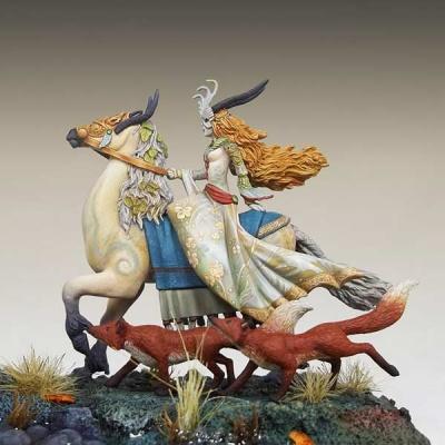 Tam Lin - Mounted Fairy