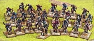 SAGA Steppe Tribes 4pt Warband