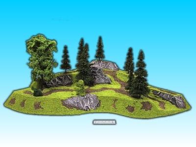 Geländestück Eckhügel