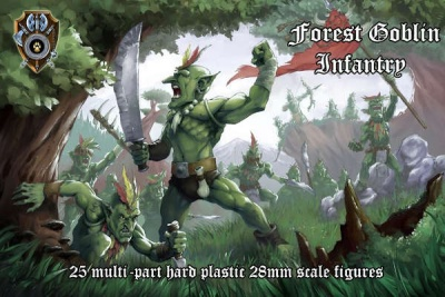 Forest Goblin Infantry (hard-plastic) (25)
