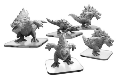 Carnidon & Spikodon Terrasaur Units