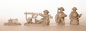 Vickers Machine Gun (with 3 crew)
