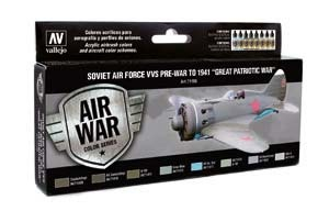 Model Air: Soviet Air Force VVS Pre-War to 1941 Great Patrio