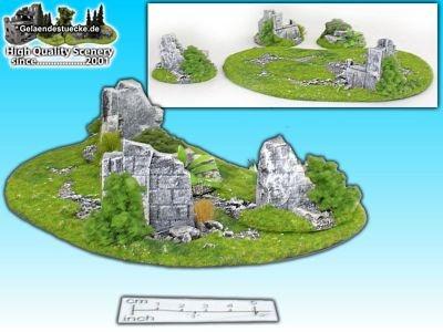 Geländestück Ruinenbase (4 Teile)