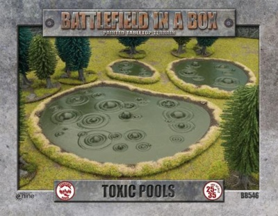 Toxic Pools (3) (OOP)