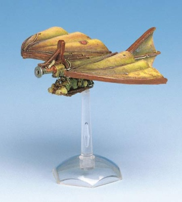 Bat' Dwarven Glider with Flamethrower
