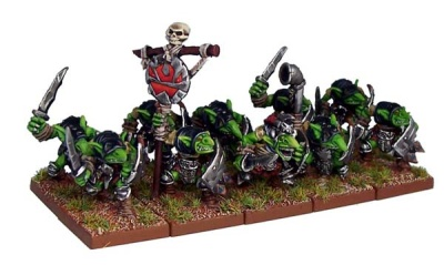 Goblin Rabble Regiment (20)