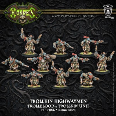 Trollblood Trollkin Highwaymen (10)