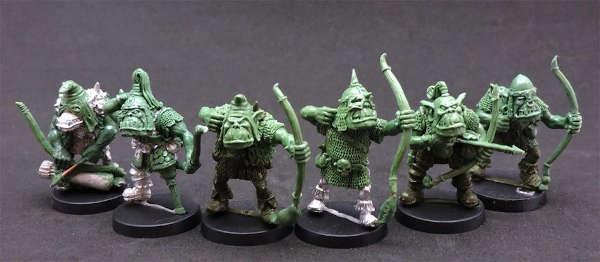 Orc Archers Squad (6)