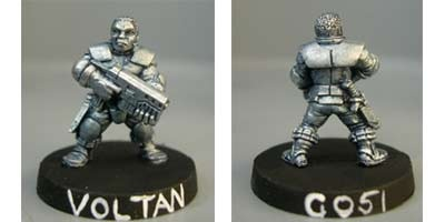 Voltan, Light infantry trooper with SMG