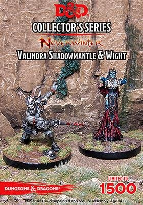 D&D: Neverwinter: Valindra Shadowmantle & Wight (2)