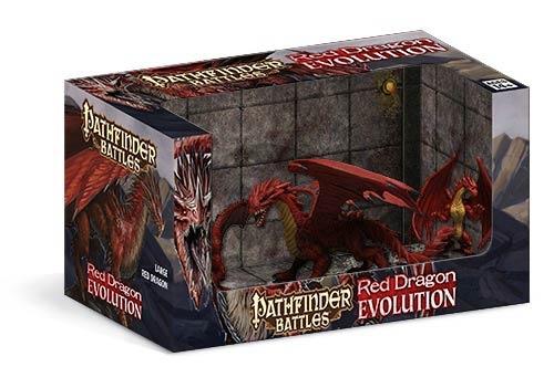 Pathfinder Battles: Red Dragon Evolution Boxed Set
