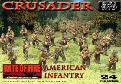 Crusader WWII: American Infantry Box Set