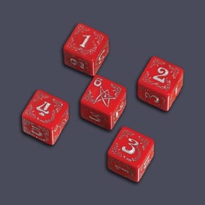 Call Of Cthulhu - Arkham Horror: Horror Cursed Dice Set