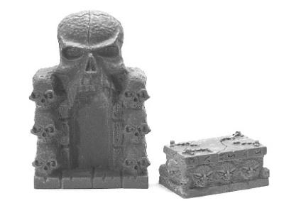 Schädeltor und Altar