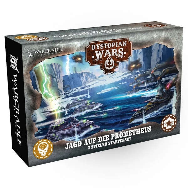 Dystopian Wars: jagd auf die Prometheus - Starterbox