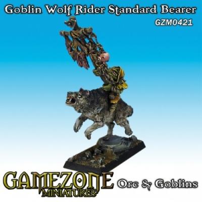 Goblin Wolf Rider Standardbearer
