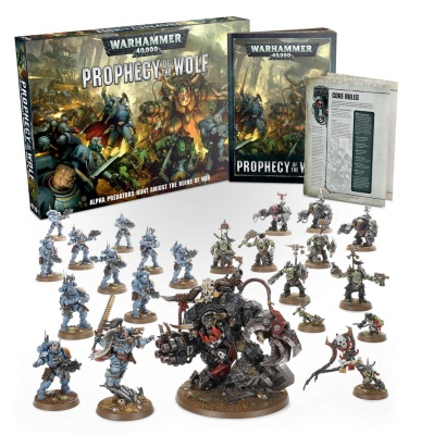 Warhammer 40.000: Weissagung des Wolfes